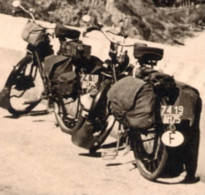 Rally Menton Genes Aout 1951  Photo 5.5x8.5cm Velo-moto Solex - Coches