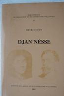 Livre Djan'Nèsse Henri Simon Liège Littérature Wallonne Patois - Bélgica
