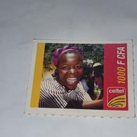 Burkina Faso-(BF-CEL-REF-13/C-1)-women-(19)-(1000fcfa)-(0154-5943-8754)-used Card - Burkina Faso