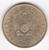 République De Djibouti. 10 Francs 1983 Bronze-aluminium. KM# 23 - Djibouti