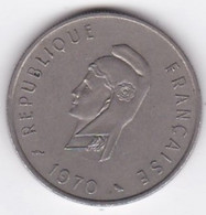 Territoire Français Des Afars Et Des Issas 50 Francs 1970 , Cupronickel, KM# 18 – Lec 68 - Djibouti