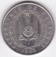 République De Djibouti 50 Francs 1983 , Cupronickel, KM# 25 - Djibouti