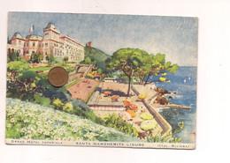 MM321 Liguria SANTA MARGHERITA LIGURE Genova Illustrata 1951 Viaggiata - Altre Città