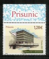 PRISUNIC.Memòries De L'avinguda Meritxell.Centros Comerciales En Andorra.timbre Neuf ** Année 2021. - Unused Stamps