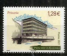 PRISUNIC.Memòries De L'avinguda Meritxell.Centros Comerciales En Andorra.timbre Neuf ** Année 2021. - Nuovi