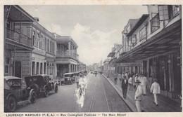 Lourenço Marques, P.E.A. Rue Consiglieri Pedroso. The Main Street  (pk79280) - Mozambique
