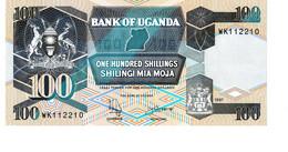 Uganda P.31c 100 Shillings 1997   Unc - Uganda