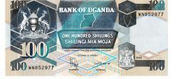 Uganda P.31c 100 Shillings 1998  Unc - Uganda
