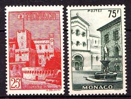 MONACO - 397 / 398 - Complet 2 Valeurs - Neufs N** - Très Beaux - Unused Stamps