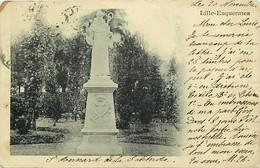 59 - Lille - Esquermes - Monument - Précurseur - Oblitération Ronde De 1901 - CPA - Voir Scans Recto-Verso - Lille