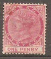 Tobago   1885  SG 21  1d  Fine Used - Trinidad & Tobago (...-1961)