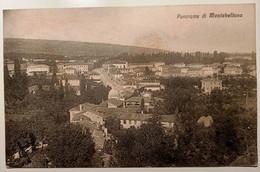 VENETO TREVISO MONTEBELLUNA PANORAMA Formato Piccolo Viaggiata 1929 Condizioni Buone - Treviso