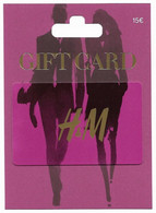 H&M  Spain Gift Card For Collection On Its Backer, No Value,  # H&m-14 - Gift Cards
