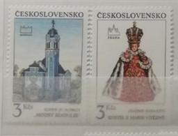 Tchécoslovaquie 1991 / Yvert N°2896-2897 / ** - Nuovi