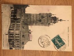 Bergues 1911 Semeuse Le Beffroi - Storia Postale