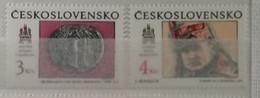 Tchécoslovaquie 1990 / Yvert N°2859-2860 / ** - Nuovi