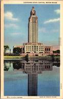 Louisiana Baton Rouge State Capitol Building Curteich - Baton Rouge
