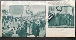 WAARSCHOOT..1937.. ZESTIGJARIG PRIESTERJUBILEUM VAN PASTOOR VAN DE ROSTIJNE - Unclassified
