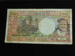 1000 Mille Francs 1996 - PAPEETE - Institut D'émission D'outre Mer  **** EN ACHAT IMMEDIAT **** - Papeete (French Polynesia 1914-1985)