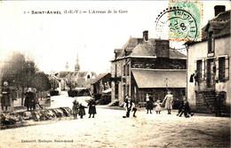 SAINT-ARMEL - L'Avenue De La Gare - Sonstige Gemeinden
