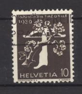 0ch  0896 -  Suisse  :  Mi  353z   Yv  334   (o)   Papier Grillé - Gebruikt