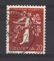 0ch  0897 -  Suisse  :  Mi  354z   Yv  335   (o)   Papier Grillé - Gebruikt