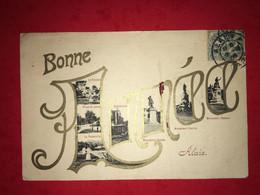 N°2574. 30. GARD. ALAIS (ALES). CARTE DE BONNE ANNES A VUES MULTIPLES. - Non Classificati