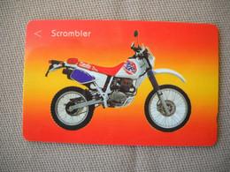 6906 Télécarte Collection  MOTO SCRAMBLER  (scans Recto Verso)  Carte Téléphonique Singapour - Moto