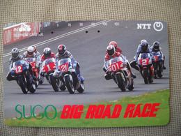 6907 Télécarte Collection  MOTO SUGO BIG ROAD RACE  (scans Recto Verso)  Carte Téléphonique Course Circuit - Moto