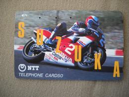 6909 Télécarte Collection  MOTO HONDA SUZUKA   (scans Recto Verso)  Carte Téléphonique - Moto