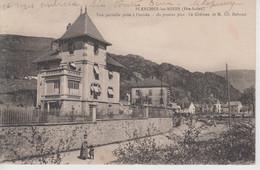 CPA Plancher-les-Mines - Vue Partielle Prise à L'entrée - Au Premier Plan : Le Château De M. Ch. Reboud - Autres Communes