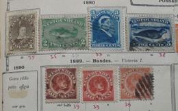 Terre Neuve  NEWFOUNDLAND 1880 1887 (6 Stamps) - 1865-1902