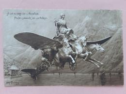 SVIZZERA - Cartolina A Favore Dell'aviazione Svizzera - Non Viaggiata (leggera Piega) + Spese Postali - Other