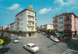 JESOLO-VENEZIA-VIA DALMAZIA-AUTO CAR VOITURES-CARTOLINA VERA FOTOGRAFIA- VIAGGIATA IL 13-9-1966 - Venezia (Venedig)