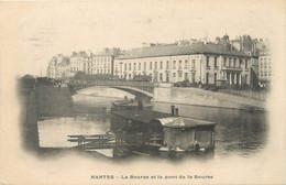 """/ CPA FRANCE 44 """"Nantes, La Bourse Et Le Pont De La Bourse"""" - Nantes"""