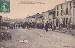 54) MOBILISATION ARRACOURT - LES DOUANIERS MOBILISES SE DIRIGENT SUR LA FRONTIERE - TAMBOUR DE VILLE - Sonstige Gemeinden