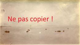 PHOTO - PATROUILLE DE CHALUTIERS A PERROS GUIREC PRES DE TREGASTEL COTE D'ARMOR - BRETAGNE - 1918 - Places