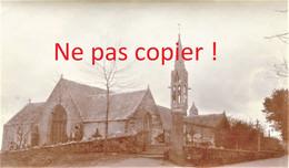 PHOTO - EGLISE DE LA FORET FOUESNANT PRES DE CONCARNEAU FINISTERE - BRETAGNE - HIVER 1917 - 1918 - Lugares