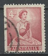 Australie - Australia 1959-62 Y&T N°252g - Michel N°291Dl (o) - 2/3 Mimosa - K14*15 - Usados