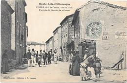 63 . PINOLS  --  L' ARRIVEE DU COURRIER DE 10 HEURES - Sonstige Gemeinden
