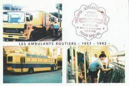 POSTE LES AMBULANTS ROUTIERS 1957/1982 - Poste & Postini