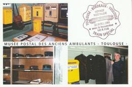 POSTE MUSEE POSTAL DES ANCIENS AMBULANTS - TOULOUSE - Poste & Postini