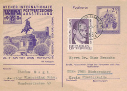 Ganzsache  Murau - Sigmund Freud 1984 - 2632 Wimpassing Schwarzatal - Erzherzog-Karl-Denkmal WIPA - Medicine