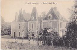 BERG19-  DORDOGNE  DOUVILLE  CHATEAU DE LA FORGE   CPA  CIRCULEE - Otros Municipios