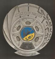 Médaille , Sports , Cyclisme,  AUDAX CLUB PARISIEN, Brevet De Randonneurs Européens , Galibier, 260 Gr., Frais Fr 8.45 E - Cycling