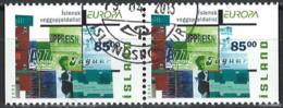 Iceland Island 2003. Mi.Nr. 1039 Dl/Dr Pair, Used O - Gebraucht