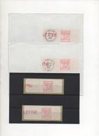 1981.LSA05 75724.Type 3. 2 VIGNETTES NEUVES + 2 LETTRES (CIRCULE).LSA05 - 1981-84 LS & LSA Prototypes