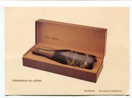 Carte Pub  : Vins De Champagne Maison Joseph Perrier à Chalons  Cuvée Joséphine 1982 - Advertising