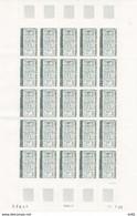 ANDORRE FEUILLE COMPLETE N° 317 - Unused Stamps