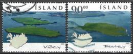 Iceland Island 2005. Mi.Nr. 1082-1083, Used O - Gebraucht